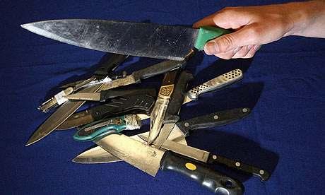 Police knife crime